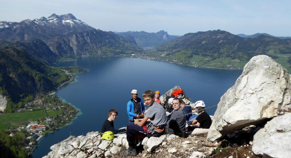Klettersteig Mahdlgupf : Klettersteig mahdlgupf